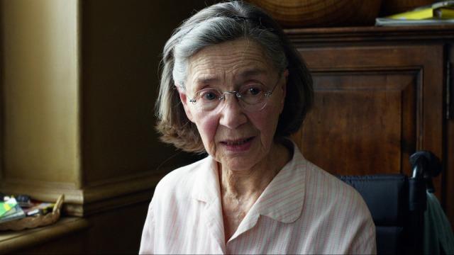 Emmanuelle Riva's Anne in Michael Haneke's Amour (2012)