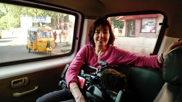 Documentary filmmaker Kim Longinotto (Divorce Iranian Style, Gaea Girls, Salma)