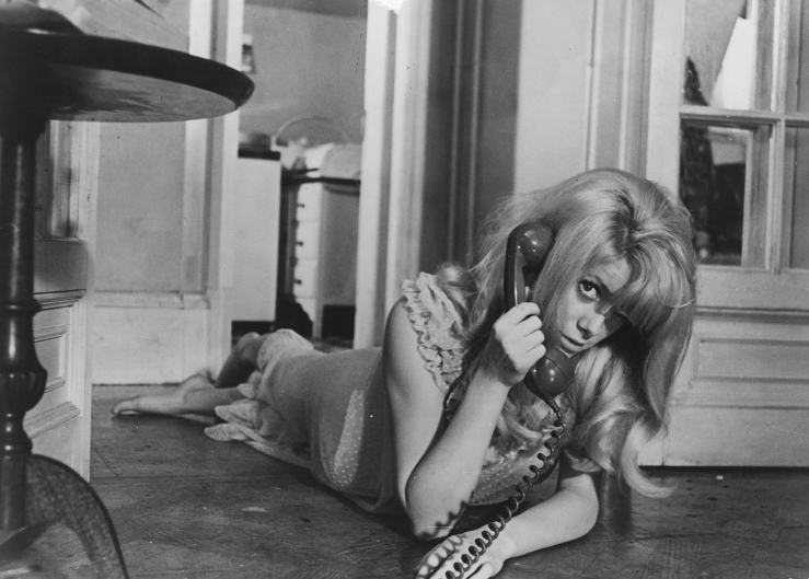 Catherine Deneuve's Carol in Roman Polanski's Repulsion (1965)