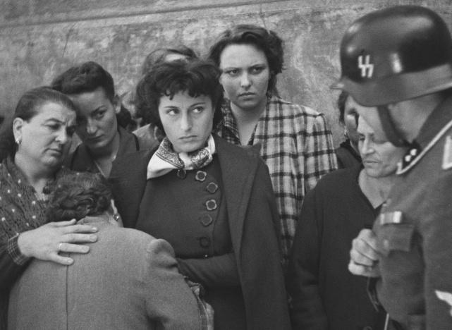Anna Magnani's Pina in Roberto Rossellini's Rome, Open City (1945)