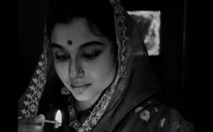 Sharmila Tagore's Aparna in Satyajit Ray's The World of Apu (Apur Sansar, 1959)