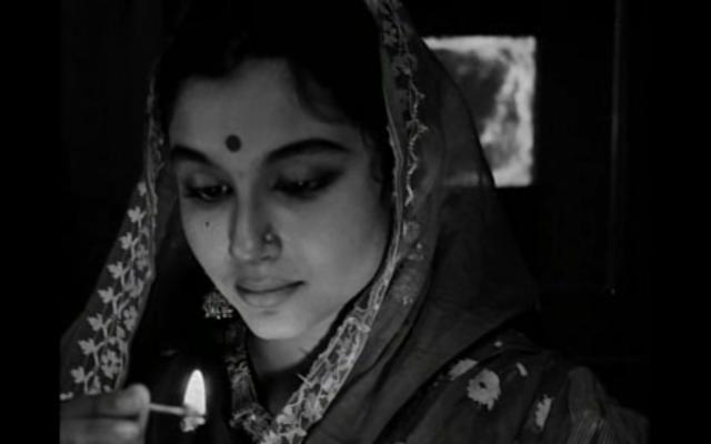 Sharmila Tagore's Aparna in Satyajit Ray's The World of Apu (Apur Sansar, 1959)