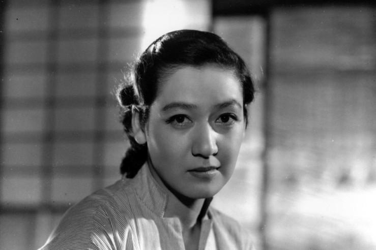 Setsuko Hara's Noriko Hirayama in Yasujiro Ozu's Tokyo Story (Tôkyô monogatari, 1953)