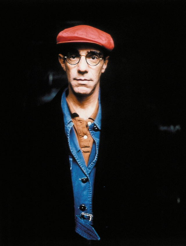 Derek Jarman photographed by Howard Sooley