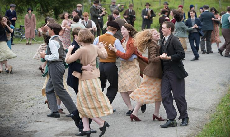 Jimmys Hall dance Ken Loach film