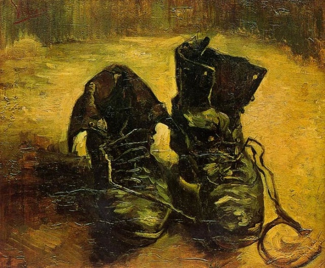 A Pair of Shoes, 1886
