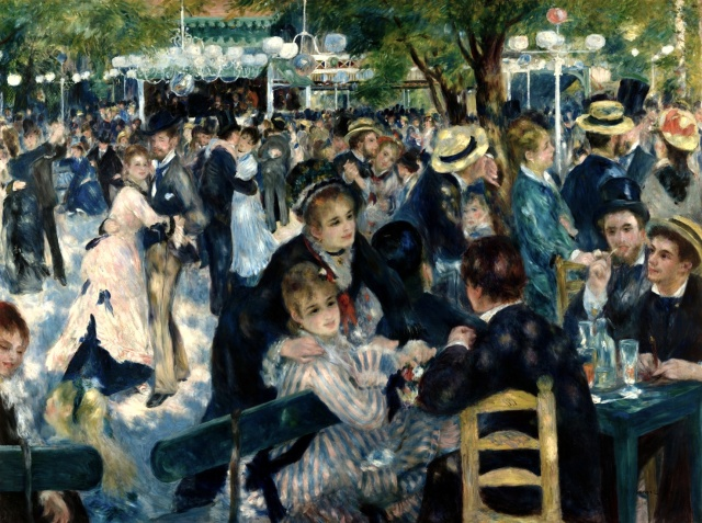 Dance at Le Moulin de la Galette, 1876