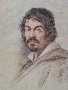 Michelangelo Merisi da Caravaggio, portrait by Ottavio Leoni c. 1621