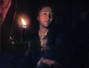 Godfried Schalcken's Self-Portrait, c. 1695