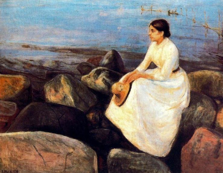 Summer Night (Inger on the Shore), 1889