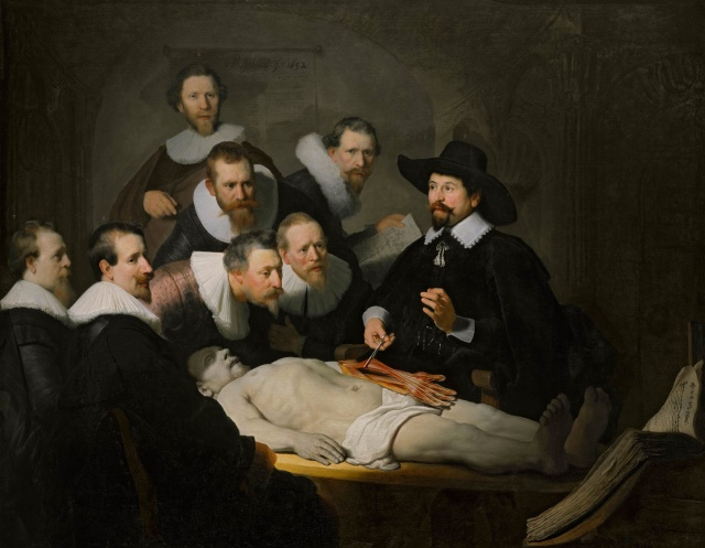 The Anatomy Lecture of Dr. Nicolaes Tulp, 1631