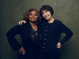 The Dreamcatcher Foundation's Brenda Myers-Powell and director Kim Longinotto