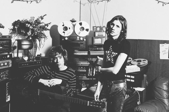 Foxygen's Jonathan Rado and Sam France