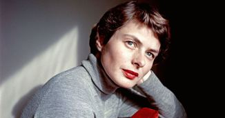 Ingrid Bergman photographed by David Seymour in 1953
