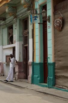 Habana street, Havana Photograph: Georgia Korossi/11polaroids