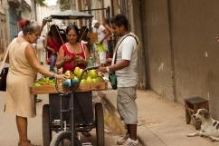 Fruits shopping in Habana Vieja Photograph: Georgia Korossi/11polaroids