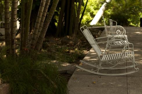 Finca Vigía garden Photograph: Georgia Korossi/11polaroids