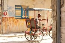 Taxi driver Photograph: Georgia Korossi/11polaroids