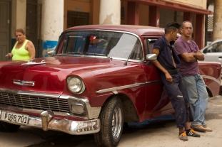 Vanity: somewhere near Paseo de Marti (Prado), Havana Photograph: Georgia Korossi/11polaroids