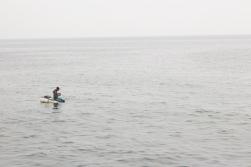 Fisherman: Caleta de San Lázaro Photograph: Georgia Korossi/11polaroids