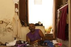 Shoemaker, town of Trinidad, Cuba Photograph: Georgia Korossi/11polaroids