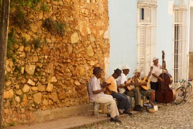 Rhythmic streets: Trinidad Photograph: Georgia Korossi/11polaroids