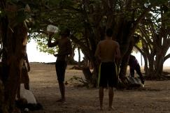 Playa Ancon, Trinidad Photograph: Georgia Korossi/11polaroids