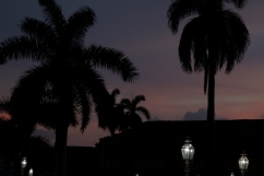 Night falls in Trinidad (UNESCO-declared world heritage site) Photograph: Georgia Korossi/11polaroids