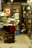 Night shift: bookshop in Havana