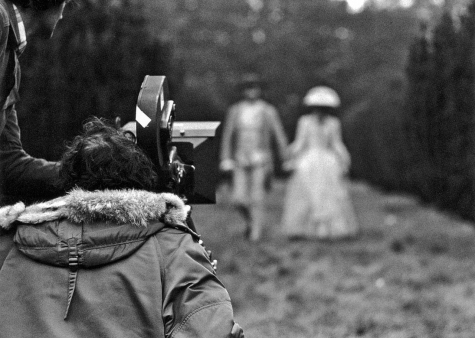 Director Stanley Kubrick on production on Barry Lyndon (1975)