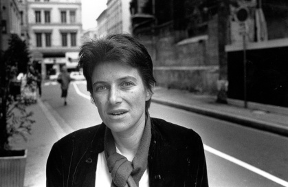 Belgian film director Chantal Akerman (1950-2015)