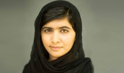 Pakistani activist for female education and the youngest-ever Nobel Prize laureate Malala Yousafzai (b. 1997) who is the subject of director Davis Guggenheim's documentary He Named Me Malala (2015).