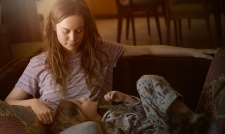 Oscar winner for best actress Brie Larson (b. 1989) in Lenny Abrahamson's Room (2015) with Jacob Tremblay