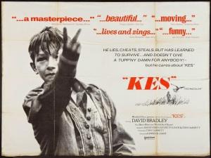 Kes (1969) poster