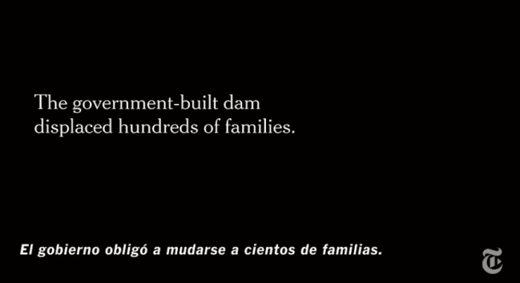 NYT Op-Doc Unsilenced (2016) by Betzabé García uses the NYT font and unattributed facts