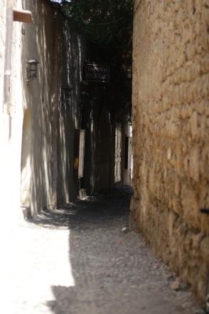 Old town Rhodes.