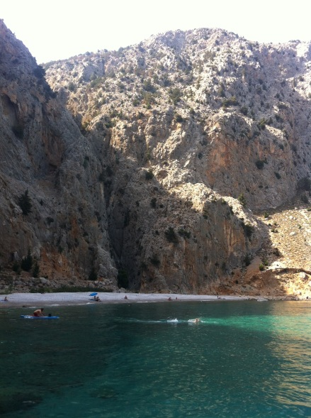 Agios Georgios beach, Symi.