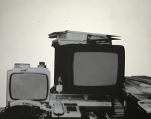 Television, 1962-83, by Michelangelo Pistoletto | Poor Art | Arte Povera: Italian Influences, British Responses exhibition at the Estorick Collection, London, 20 September – 17 December 2017